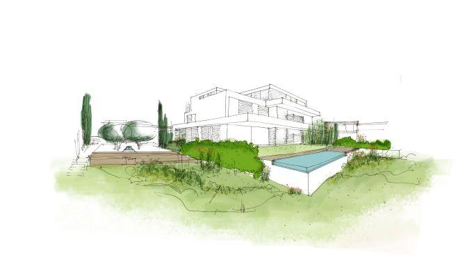 Propuesta paisajismo Alhena valdemarin madrid