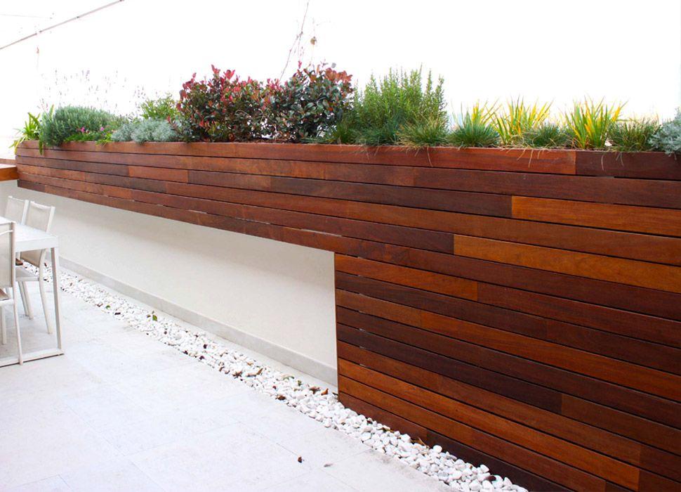 Terraza en madrid con aires mediterr neos la habitaci n for Jardines en la terraza