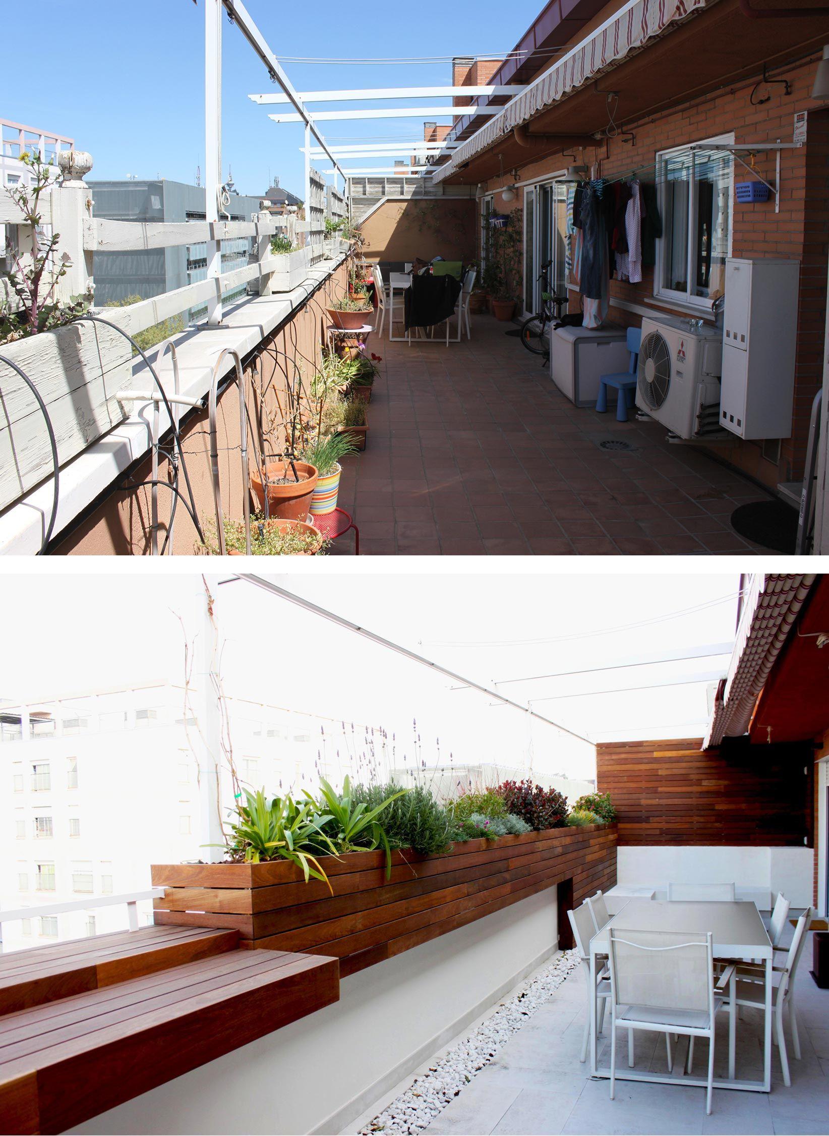 Terraza en Madrid con aires mediterráneos | La Habitación Verde