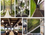 Jardines en oficinas