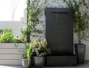 Fuente de pared para jardín