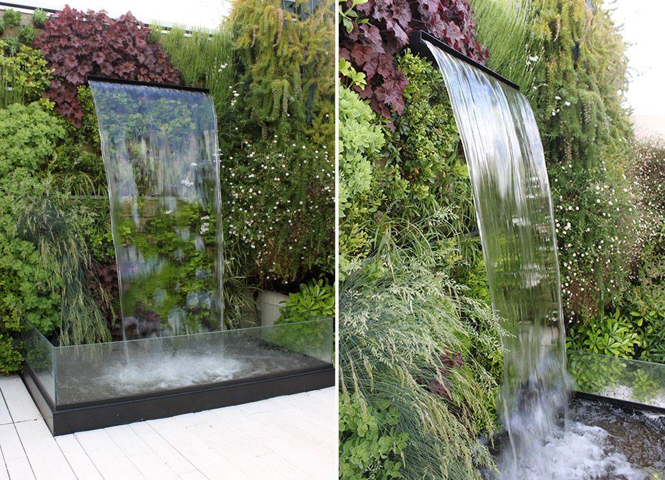 Fuente de tipo cascada para Jardín