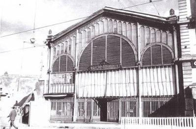 La Halle de Rive ... à l'époque