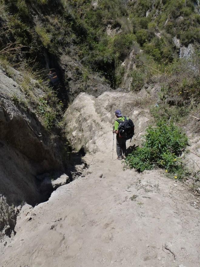 Canyon entre Guayama et Chugchilán