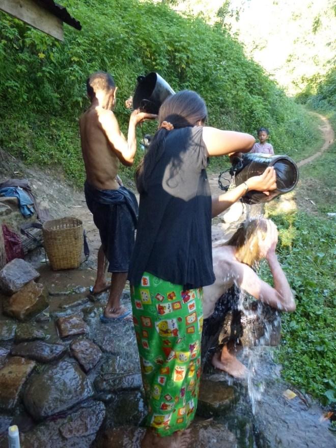Douche à Pankam