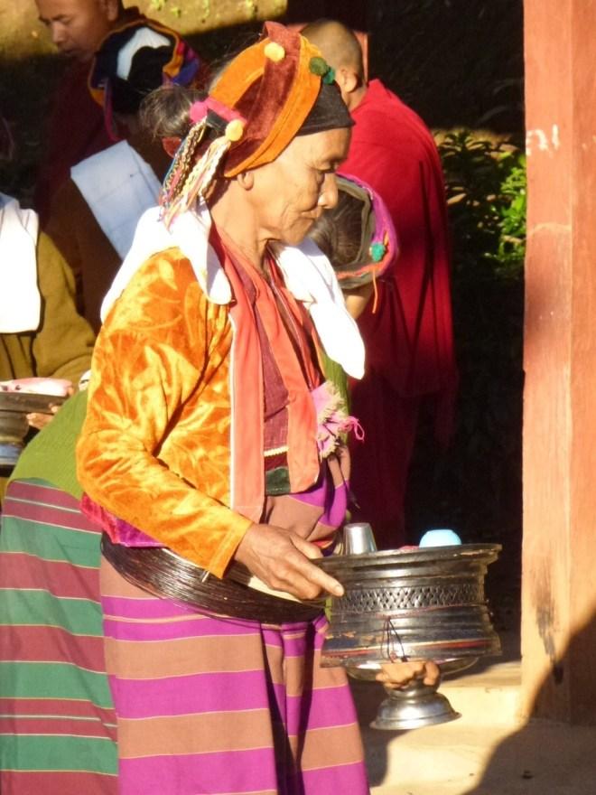 Femme Palaung à Pankam