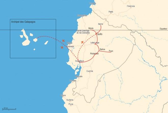 Itinéraire Equateur