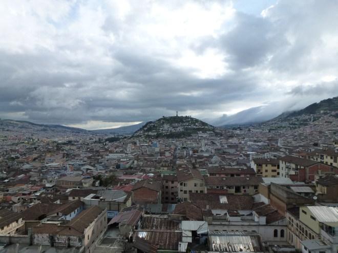 Quito - Vue depuis la basilique del Voto