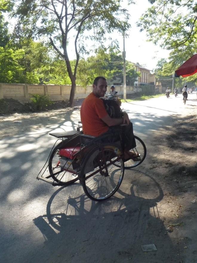 Trishaw Mandalay