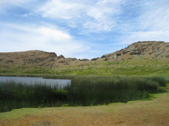 Cratère de Rano Raraku - Ile de Pâques