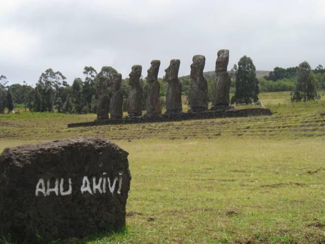 Ahu Akivi - Ile de Pâques