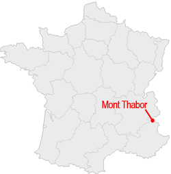 Carte Mont Thabor