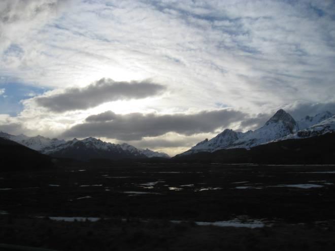 Arrivée près d'Ushuaia - Argentine