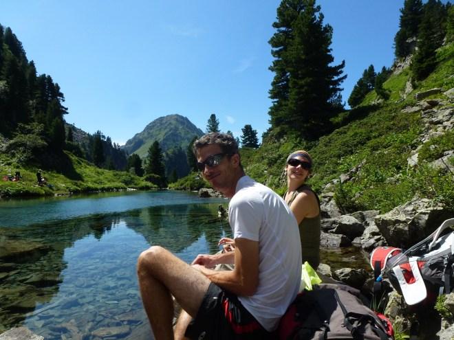 Lac Léama - Alpes
