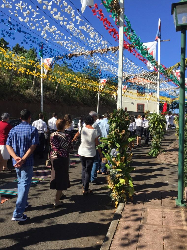 Procession São Jorge Madere