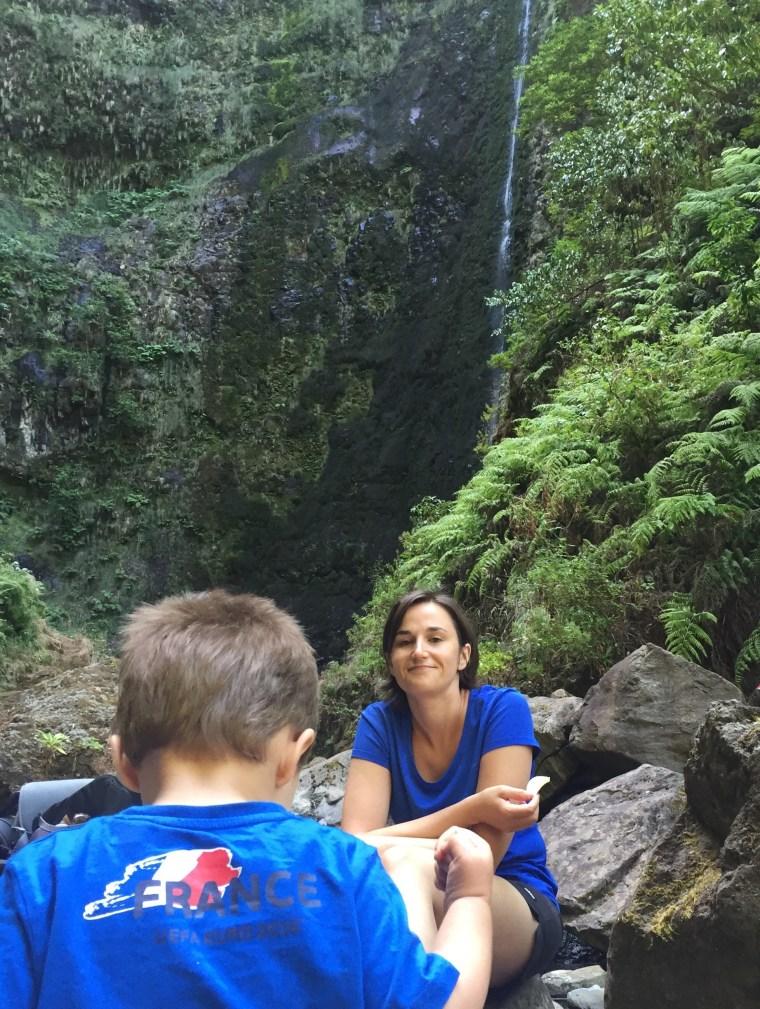 Caldeirao Verde cascade Madere
