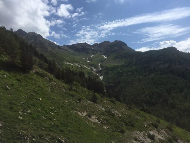 Chaillol col Vénasque Valgaudemar Alpes
