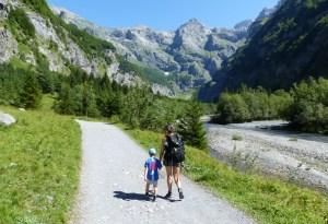 Cirque fer cheval Sixt Haute-Savoie Alpes