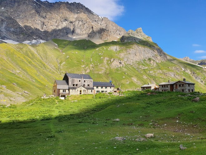 Refuge Bezzi, tour Archeboc, Tarentaise, Alpes, France