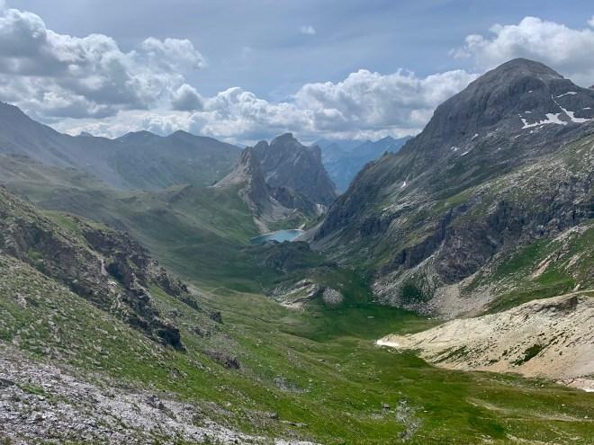 Grand Lac depuis col de la Ponsonnière