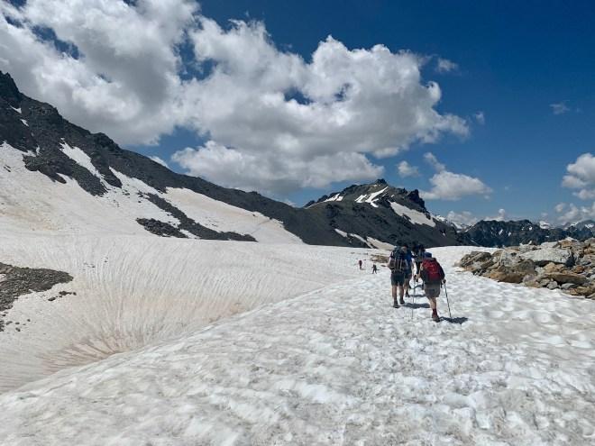 Col de Valmeinier, Les Cerces, Les Alpes, France