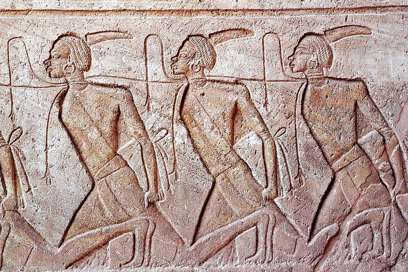 Esclavos y condenados en el Antiguo Egipto