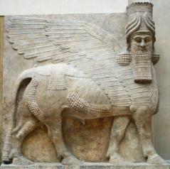 Toro alado de una de las puertas de Dur Sharrukin