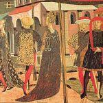 El cambio en la indumentaria durante la Baja Edad Media