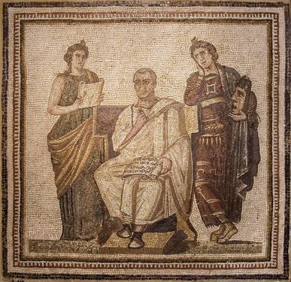 Mosaico Virgilio