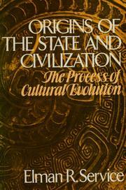 Orígenes del Estado y la civilización, de Elman R. Service