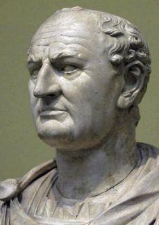 Busto del emperador Vespasiano