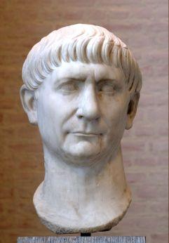 Busto de Trajano, el primer emperador de origen hispano.