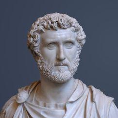 Busto de Antonino Pío, sucesor de Adriano.
