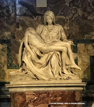 Piedad de Miguel Ángel, Vaticano, Roma