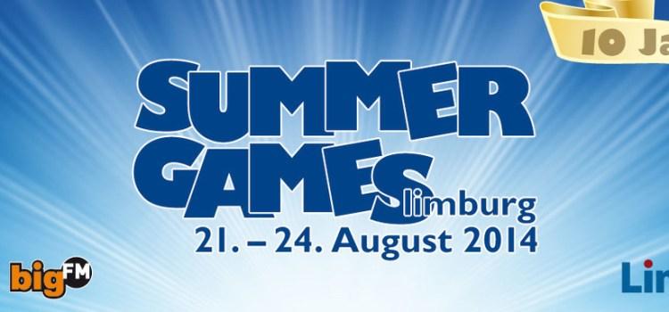 Zum zehnten Mal! Die Summer Games in Limburg