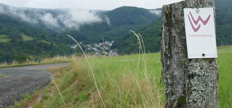 Lahnwanderweg - Markierung