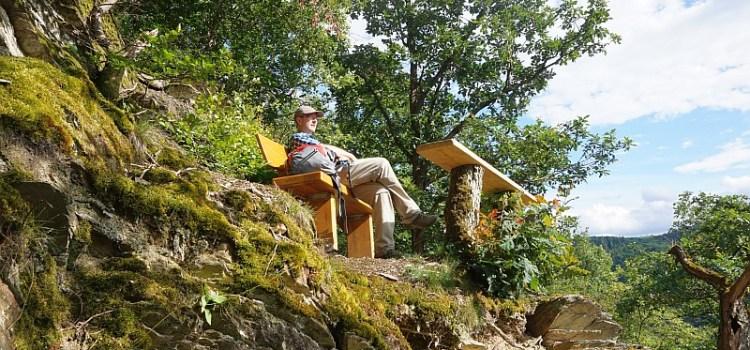 Lahnwanderweg flußaufwärts – Etappe 2 von Bad Ems nach Obernhof