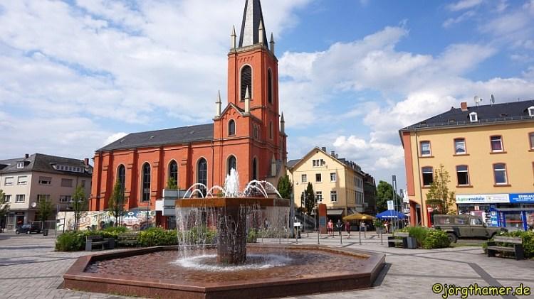 Bahnhofsvorplatz Limburg