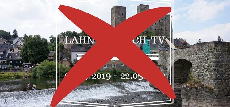Lahntastisch TV wird eingestellt