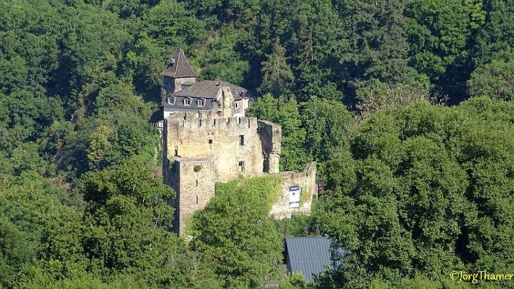 """Burg Balduinstein im """"Close-Up"""""""
