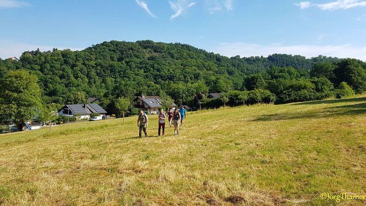 Unterwegs auf der Küppeltour bei Balduinstein