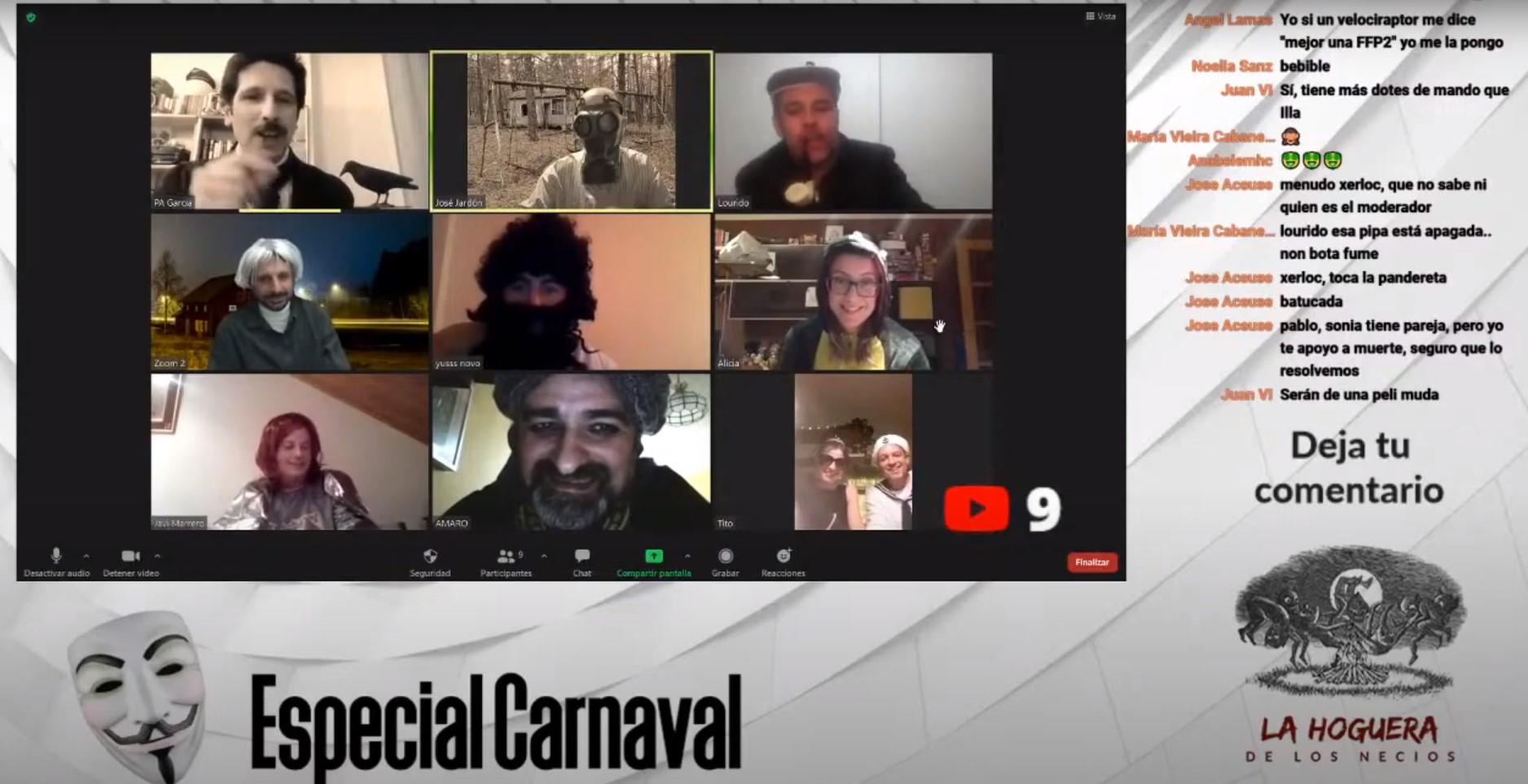 La Hoguera de los Necios Carnaval