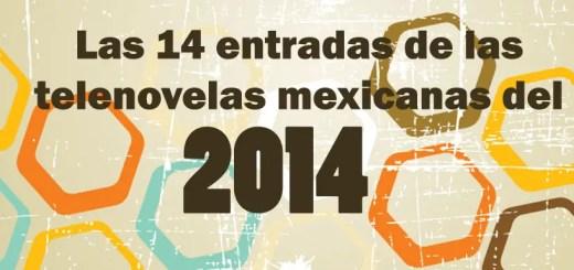 entradas de telenovelas 2014