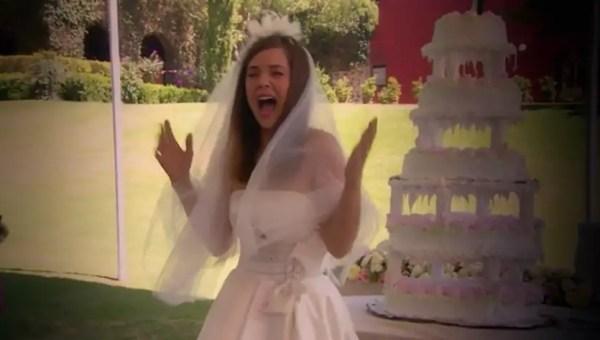 Las novias de telenovela que tiñeron de rojo su vestido de boda