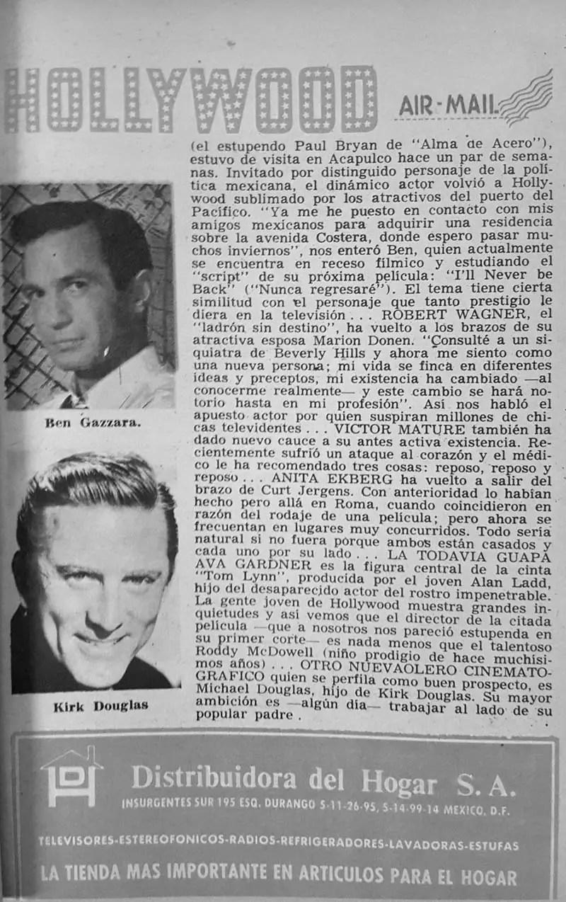 Revista Tele Guía 22 de enero de 1970 - Parte 1/6