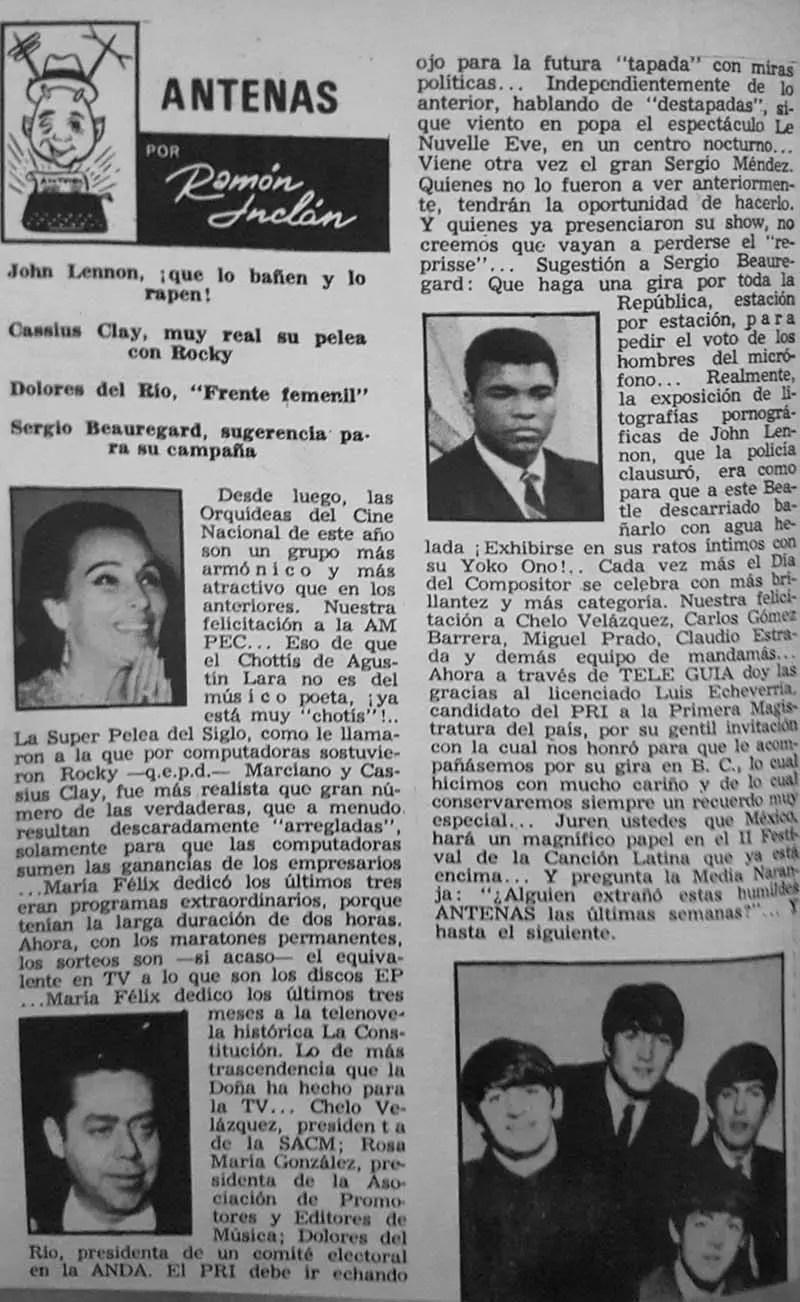 Revista Tele Guía 22 de enero de 1970 - Parte 6/6