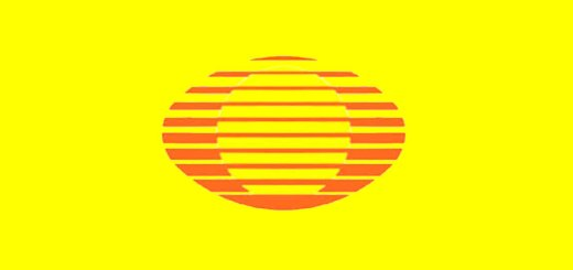 televisa amarillo naranja logo antiguo telenovelas