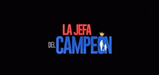 la jefa del campeon logo grande
