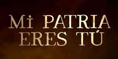 Mi Patria Eres Tú (Vatanım Sensin), la primera impresión
