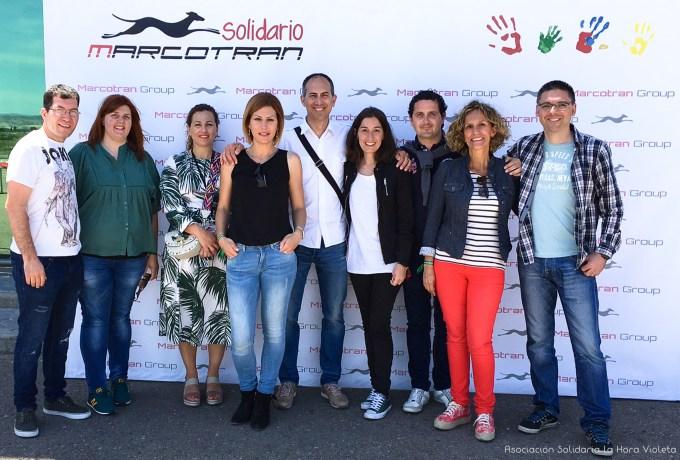 Zaragoza. Family Day Marcotran. Asociación Solidaria La Hora Violeta